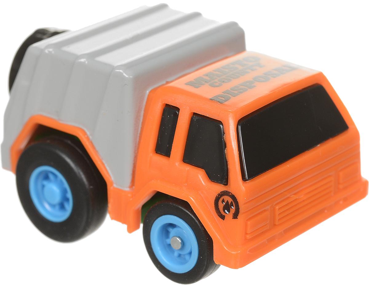 Maisto Машинка Slickers цвет оранжевый серый голубой 15023