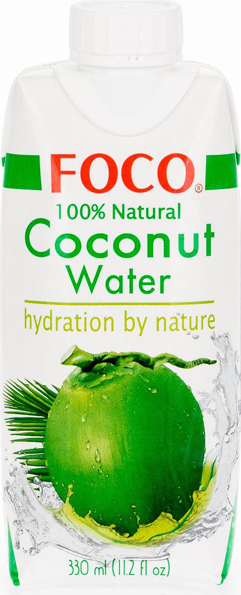 Foco Кокосовая вода натуральная, 330 мл king island кокосовая вода без сахара 1 л