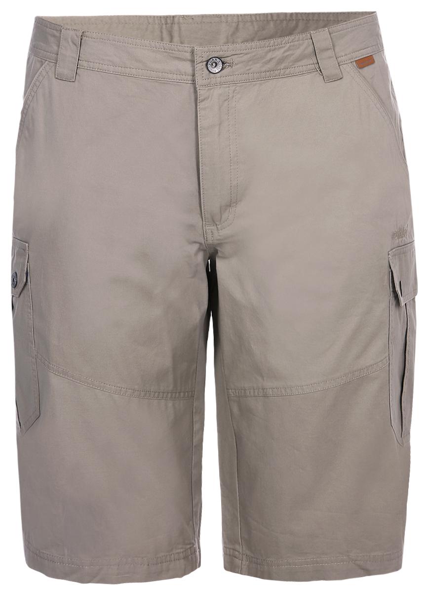 Шорты мужские Rukka, цвет: светло-коричневый. 979376259RV_121. Размер XL (54)979376259RV_121Шорты от Rukka выполнены из натурального хлопка. Модель в поясе застегивается на пуговицу, имеет ширинку на молнии и шлевки для ремня. По бокам шорты дополнены втачными карманами со скошенными краями, сзади - прорезным карманом. По бока брючин имеются карманы с клапанами.