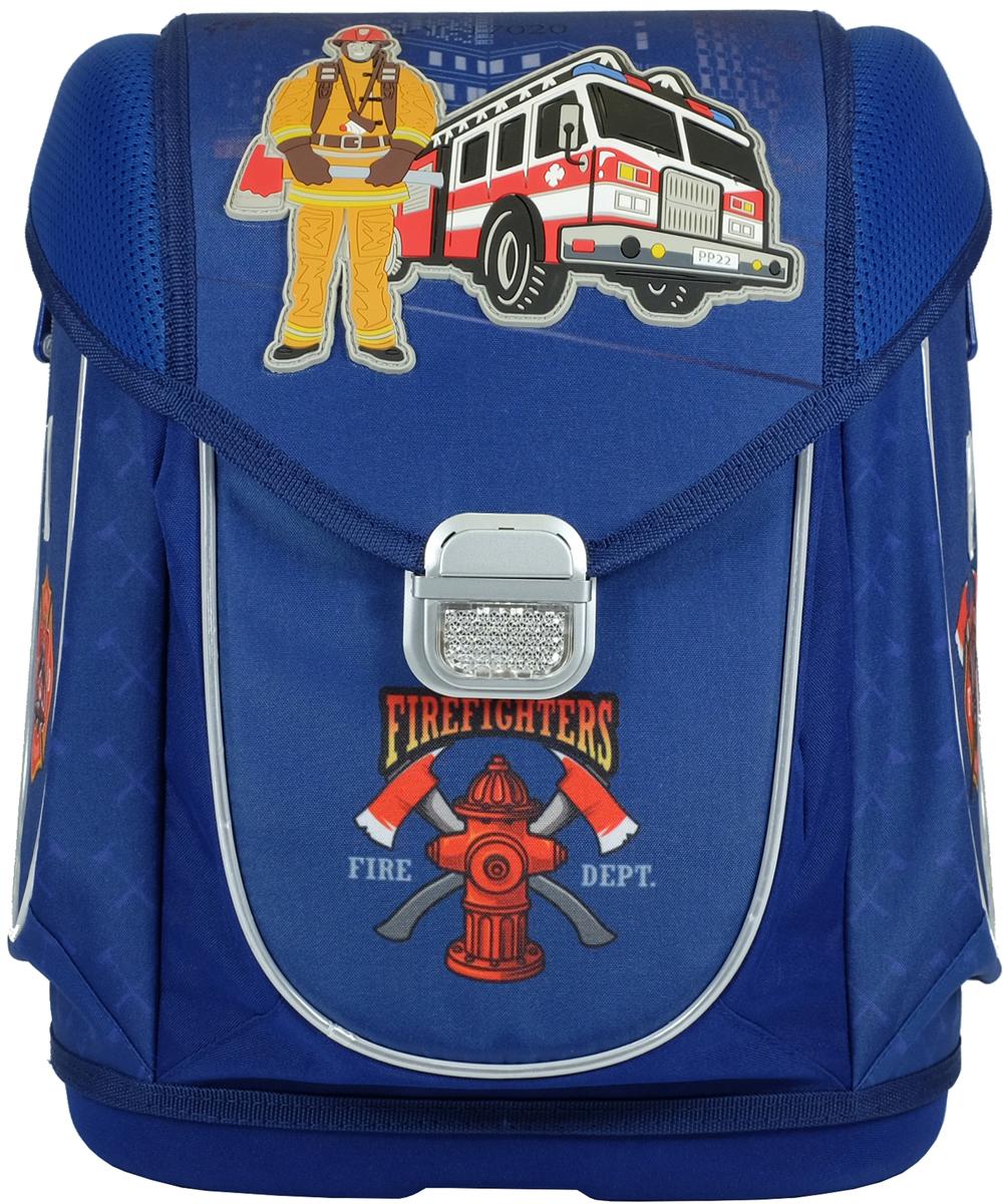 Magtaller Ранец школьный Ezzy III Firefighter пеналы magtaller пенал с наполнением ezzy firefighter