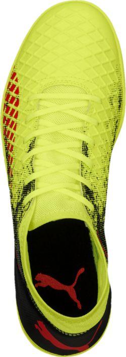 Футбольные бутсы FUTURE 18.4 повторяют стиль и силуэт флагманской модели FUTURE 18.1 и при этом отличаются весьма привлекательной ценой. Мягкий и прочный синтетический материал верха делает эту обувь легкой, удобной и долговечной.