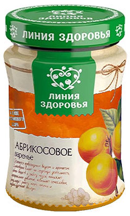 Линия Здоровья Варенье абрикосовое, 360 г линия здоровья варенье черничное 360 г