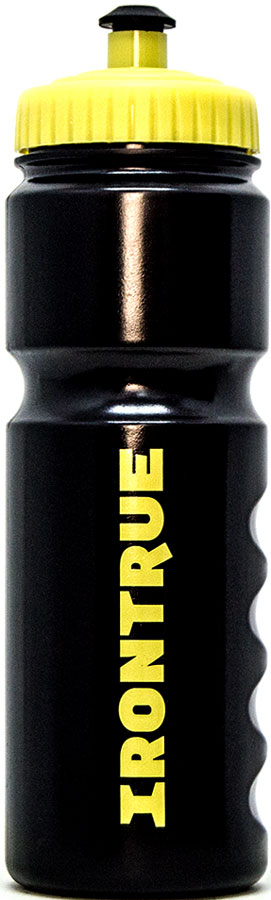 Бутылка спортивная Irontrue Classic Series, цвет: желтый, черный, 750 мл. ITB711-750 бутылка гантеля спортивная irontrue цвет желтый 2 2 л