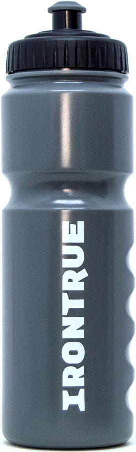 Бутылка спортивная Irontrue Classic Series, цвет: черный, серый, 750 мл. ITB711-750 бутылка спортивная irontrue цвет розовый 2 2 л itb931 2200