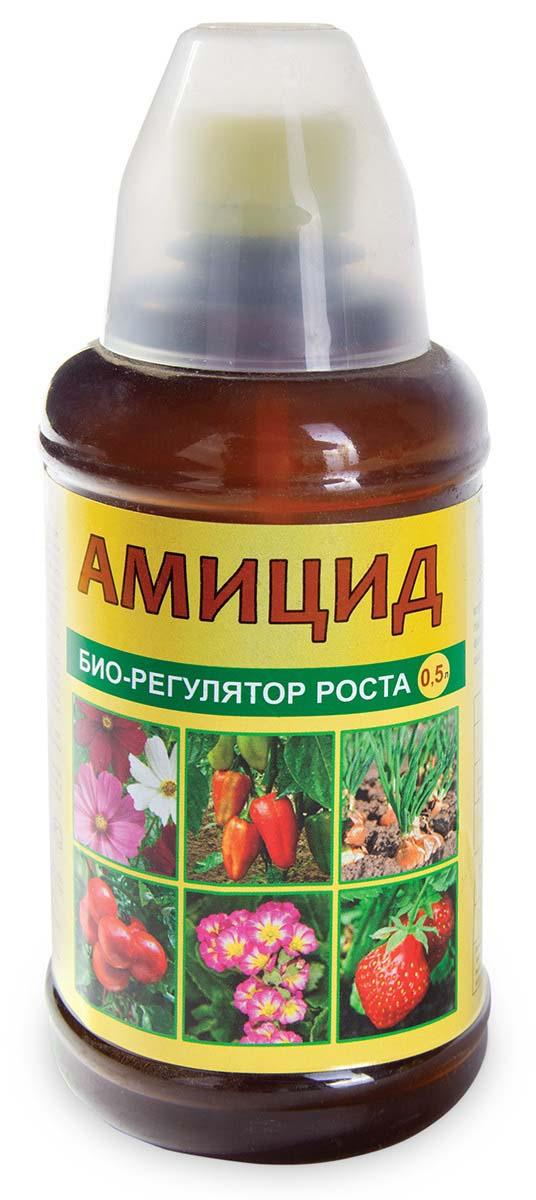 Био-регулятор роста Ваше хозяйство Амицид, с мерным стаканчиком, 500 мл