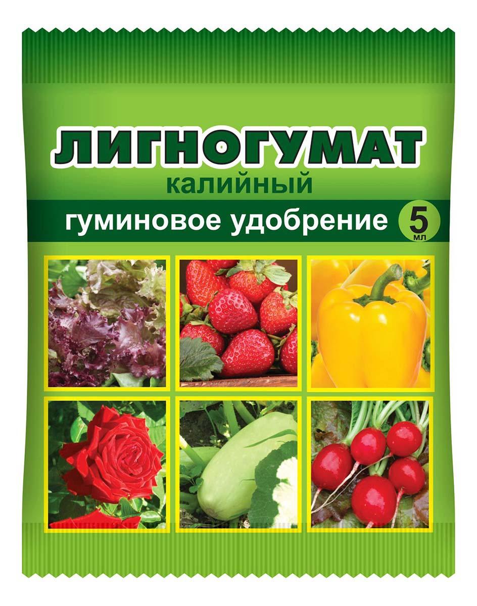 Удобрение Ваше хозяйство Лигногумат, 5 мл удобрение для гортензий и кислолюбивых растений compo 500 мл