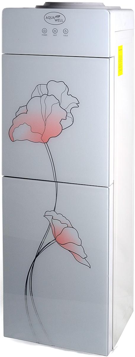 Aqua Well YLR-2-JXD-1, White кулер для водыК1915Кулер для воды напольный Aqua Well 2-JXD-1 ПЭ со стеклянной декоративной панелью. Очень красивая линейка кулеров, благодаря наличию нескольких вариантов цветового исполнения отлично впишется в любой дизайн квартиры или офиса.