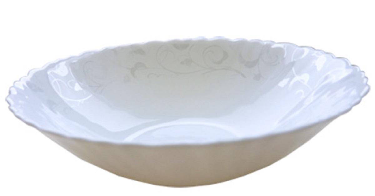 Миска суповая Chinbull Иль-де-Франс. Волна, диаметр 19 смOLHDW-75/130313Миска суповая из тонкой стеклокерамики.