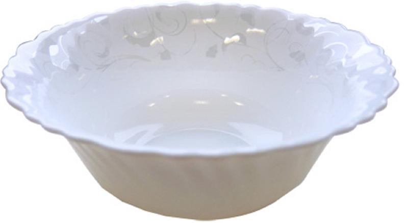 Набор стильных салатников из тонкой стеклокерамики состоит из 3 предметов.  Диаметр салатников: 17,5 см, 20 см, 22,5 см.