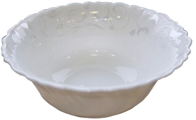 Яркий и изящный салатник из тонкой стеклокерамики станет прекрасным дополнением вашей кухни.