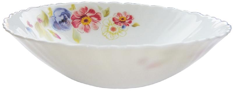 Миска суповая Chinbull Луара, диаметр 19 смOLHDW-75/150506Миска суповая из тонкой стеклокерамики с цветочным рисунком.