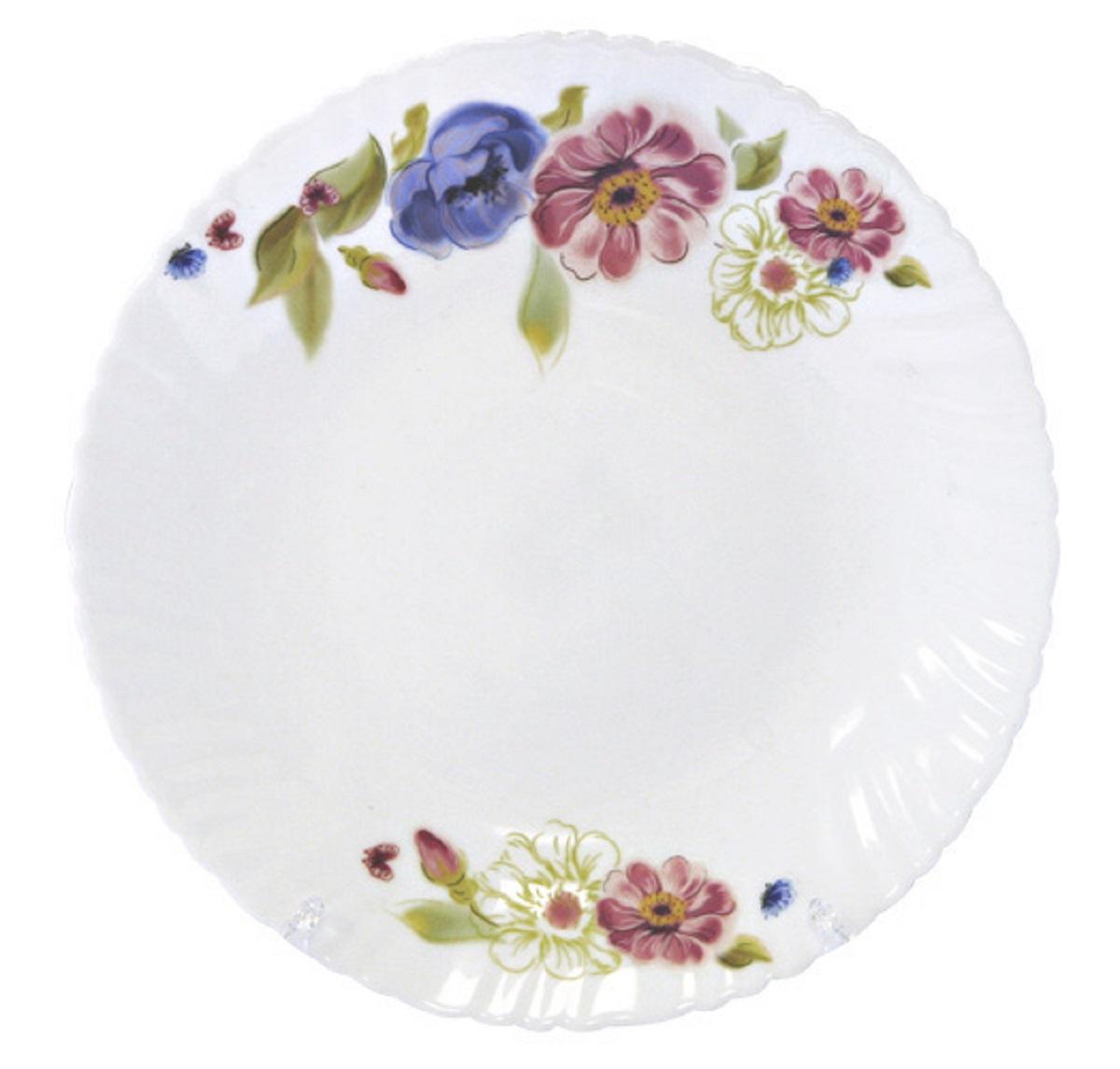 Тарелка обеденная Chinbull Луара, диаметр 24 см тарелка обеденная chinbull лоран диаметр 23 см