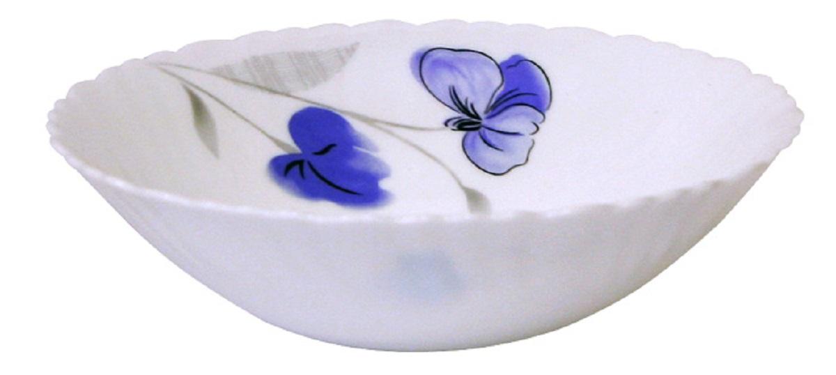 Миска суповая Chinbull Нанси, диаметр 19 смOLHDW-75/808Стильная суповая миска из тонкой стеклокерамики с цветочным рисунком.