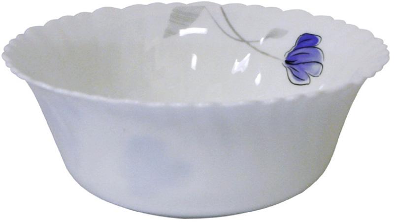 Салатник Chinbull Нанси, диаметр 22,5 смOLHW-90/808Яркий и изящный салатник из тонкой стеклокерамики с цветочным рисунком.