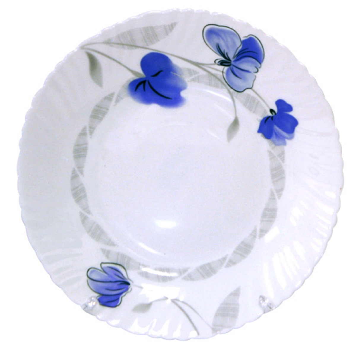 Тарелка обеденная Chinbull Нанси, диаметр 24 см тарелка обеденная 24 см miolla тарелка обеденная 24 см