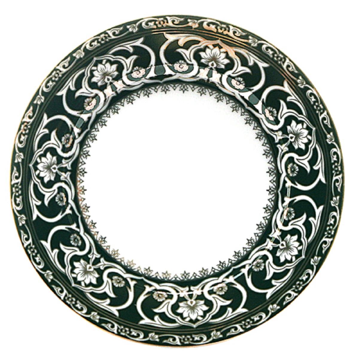 Тарелка МФК-профит Восточные узоры, диаметр 20 см щетка утюжок мфк профит восточные узоры цвет сиреневый 11 x 5 5 x 7 см
