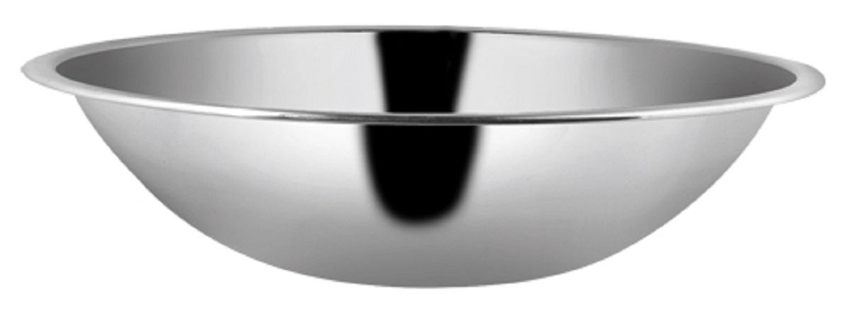 Миска из высококачественной нержавеющей стали с зеркальной полировкой.