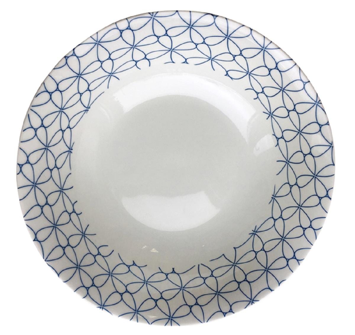 Тарелка суповая МФК-профит Белла, диаметр 18 см тарелка суповая фиц строуберри диаметр 20 см 897824