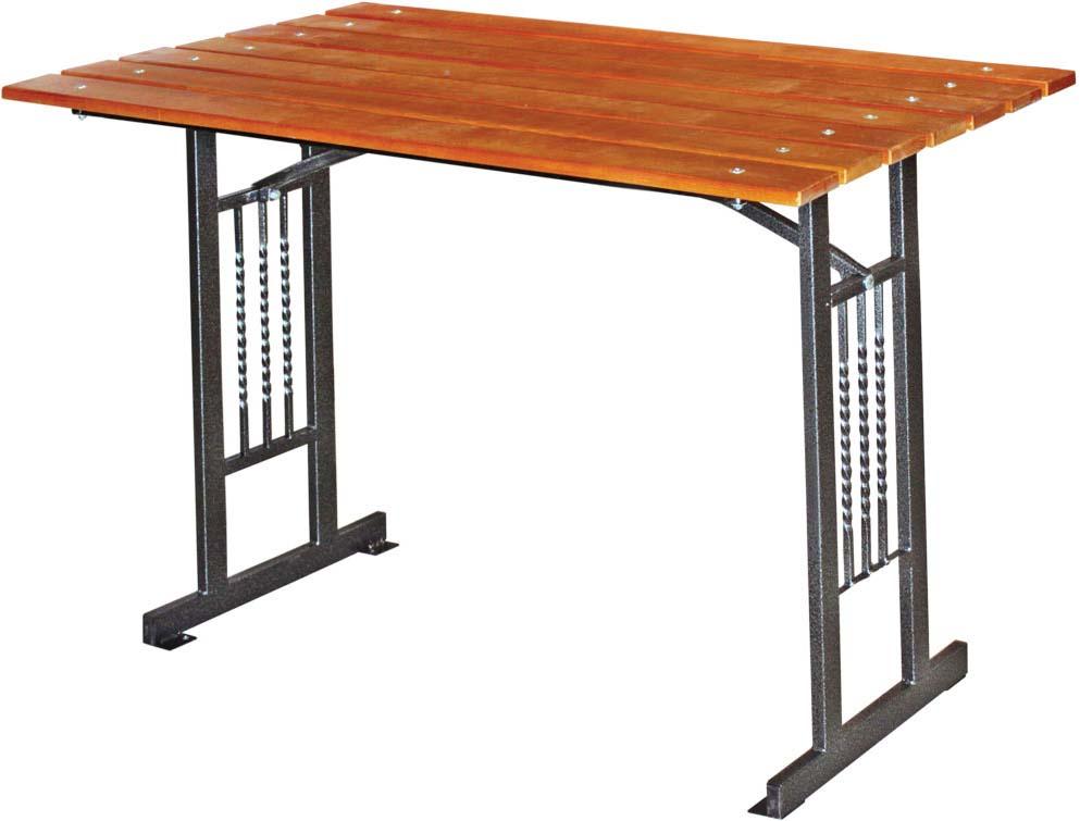 Стол садовый Комплект-Агро Мадрид, 120 х 80 х 70 см мангал комплект агро обжора 100 х 50 х 72 см