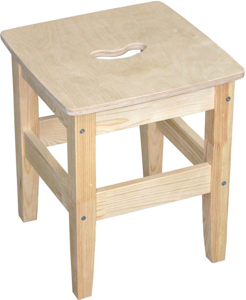 Табурет деревянный можно использовать как в помещении, так и на улице. Функционален, удобен.