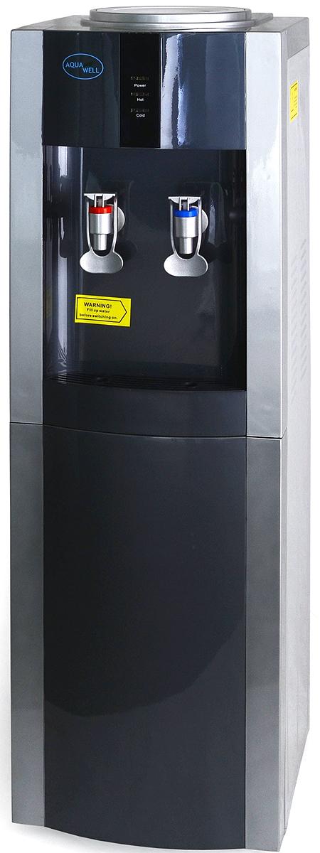 Aqua Well BH-YLR-16LD/E, Blue Silver кулер для воды кулер для воды lesoto 16 l c e blue silver