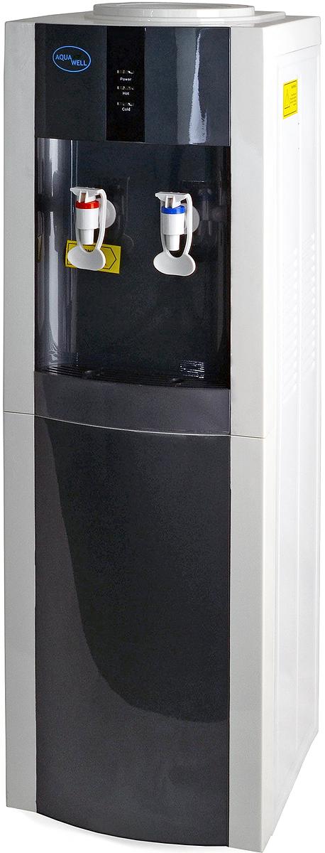 Aqua Well BH-YLR-16LD/E, White Grey кулер для воды кулер для воды lesoto 16 l c e blue silver