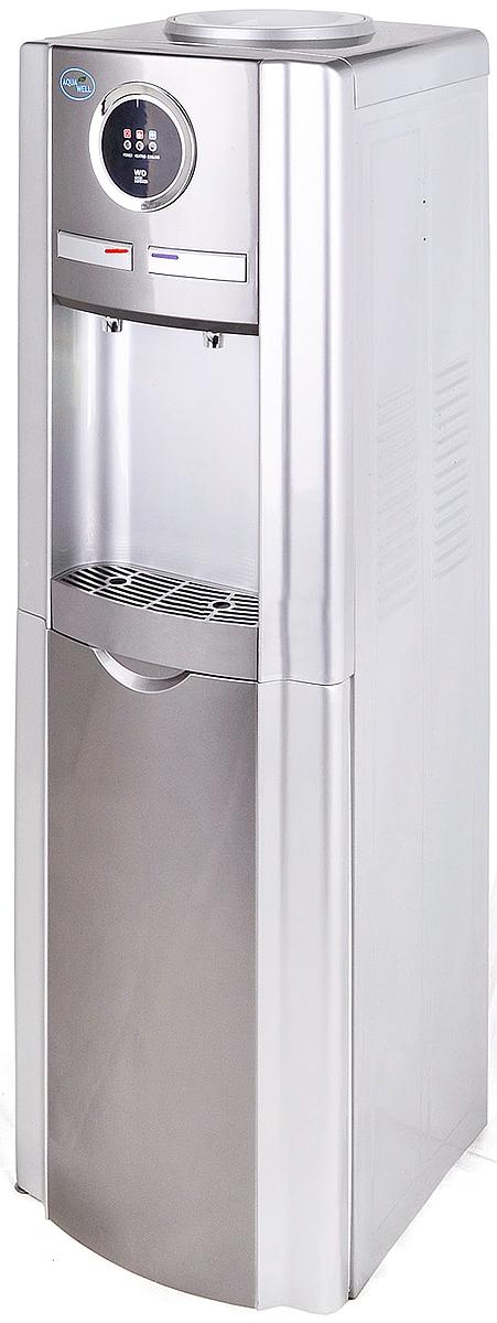 Aqua Well BH-YLR-99LD, Silver кулер для водыК2095Кулер для воды напольный электронный 99LD