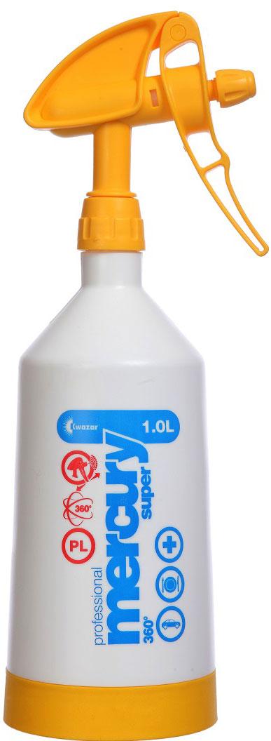"""Опрыскиватель ручной Kwazar """"Merkury Pro+ """" предназначен для использования дома, но также может быть использован, например, на бензозаправочных станциях или площадках охраны здоровья. Прост в употреблении и продуктивен, а высокое качество и примененные витоновские прокладки, гарантируют безаварийность.  Уникальный двусторонний насос SUPER DOUBLE ACTIO влияет на очень эффективную и удобную работу. На баке находится четкая шкала емкости и прозрачная полоска, указывающая уровень жидкости."""