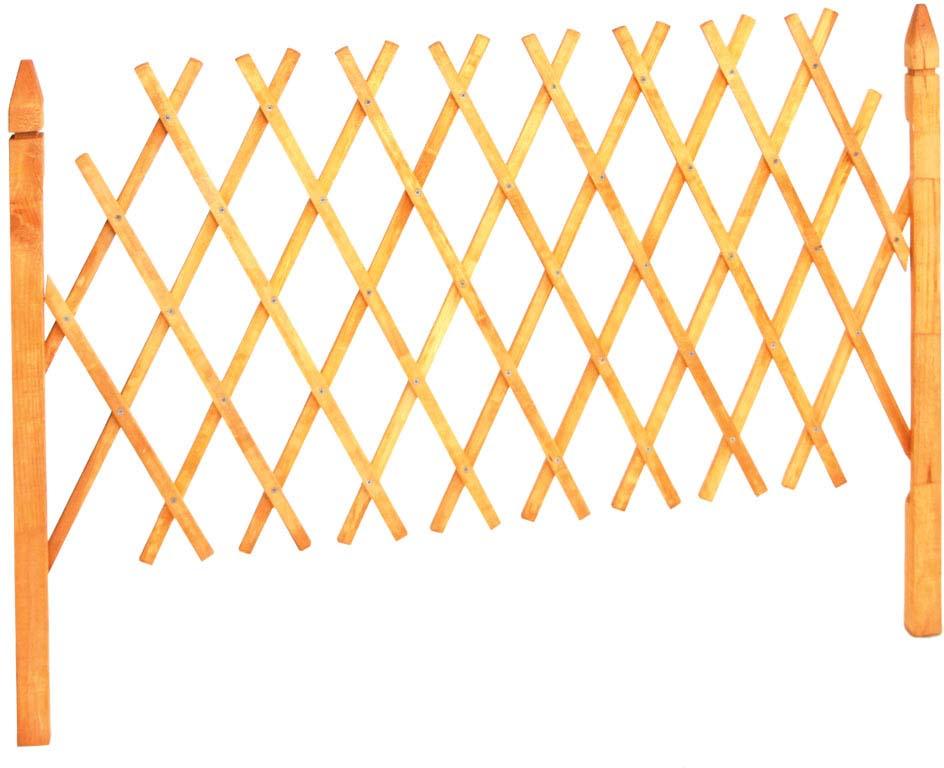 Деревянные шпалеры применяются для обустройства территории загородного участка. Шпалера представляет собой конструкцию, выполненную из тонких деревянных дощечек, с виду словно переплетенных между собой, и образующих узор в виде квадратиков или ромбиков.