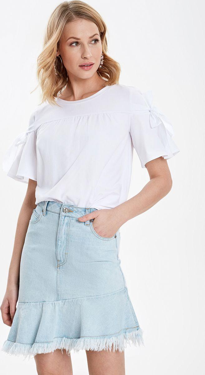Купить Блузка женская Concept Club Norma, цвет: белый. 10200110319_200. Размер S (44)