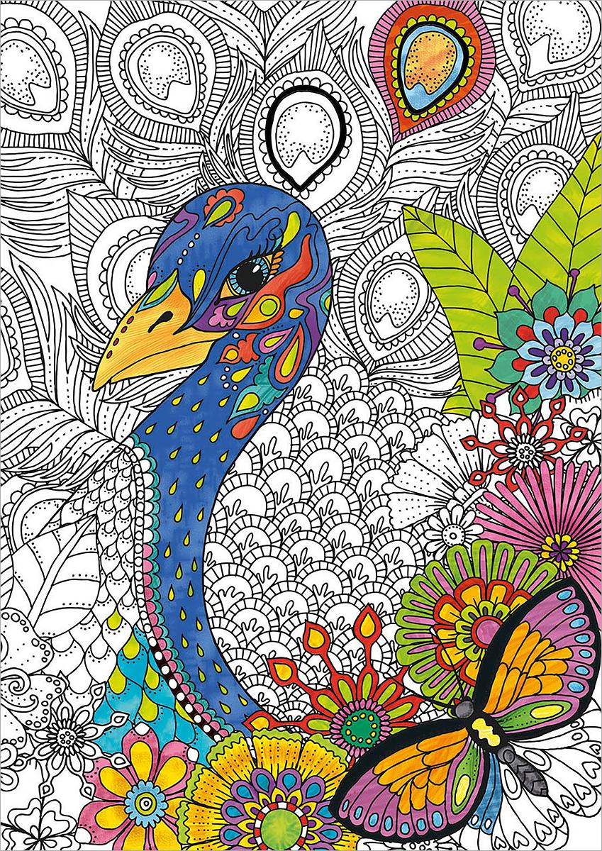 Educa Пазл-раскраска Джунгли