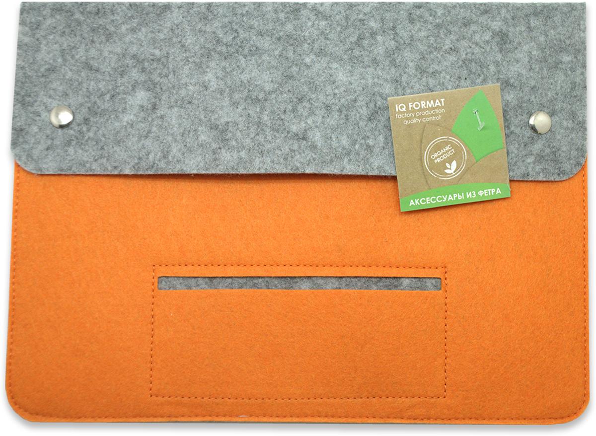 Feltrica Папка для бумаг A4 цвет оранжевый серый4627130652624Папка А4 из фетра Feltrica - это стильный офисный аксессуар для хранения личных вещей и документов. Экологичные материалы и надежное крепление обеспечат сохранность ценных вещей от внешнего воздействия, а современный эко-дизайн подчеркнет Ваш неповторимый стиль.