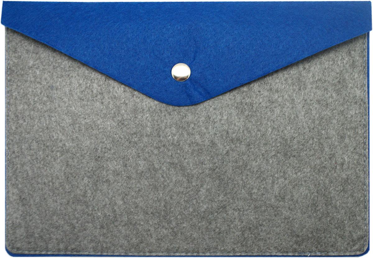 Feltrica Папка для бумаг A5 цвет серый синий 4627130655076