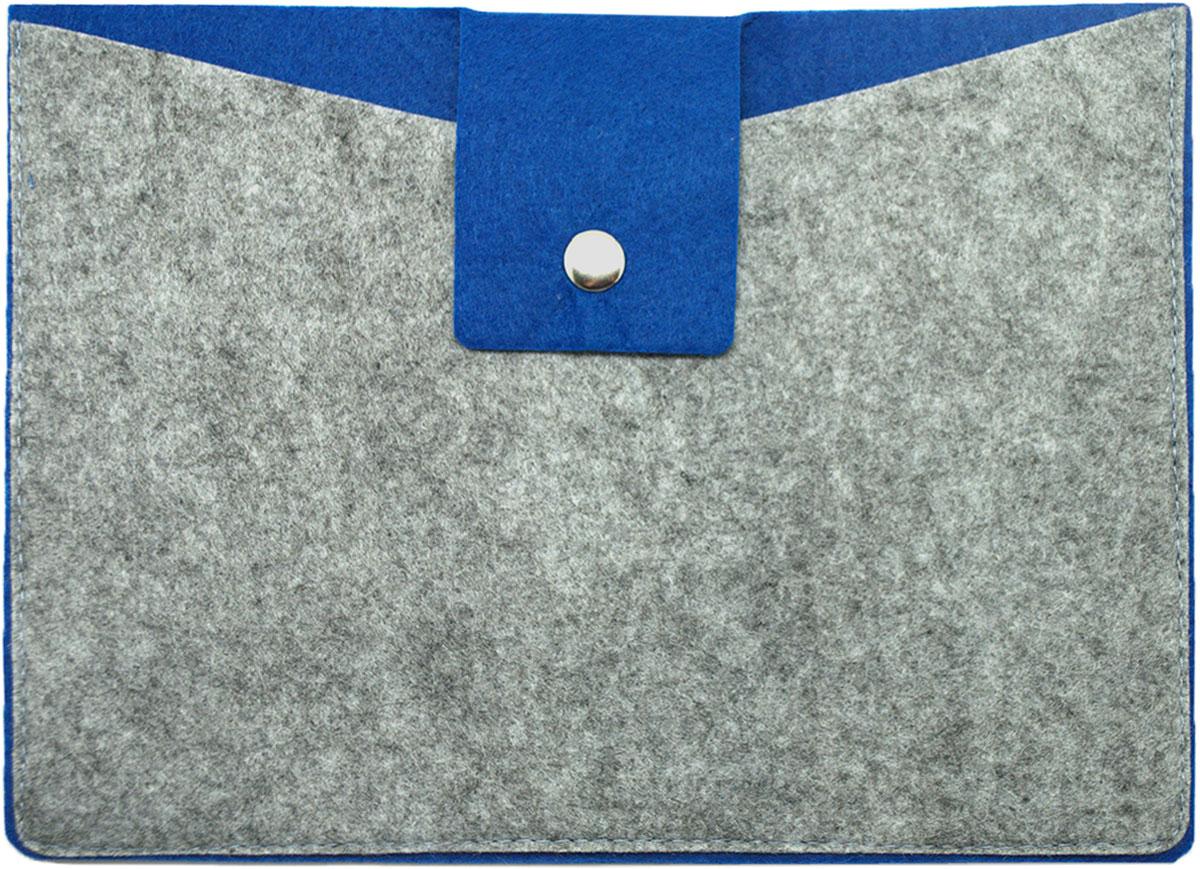 Feltrica Папка для бумаг A5 цвет серый синий 46271306551134627130655113Папка А5 из фетра Feltrica - это стильный офисный аксессуар для хранения личных вещей и документов. Экологичные материалы и надежное крепление обеспечат сохранность ценных вещей от внешнего воздействия, а современный эко-дизайн подчеркнет Ваш неповторимый стиль.