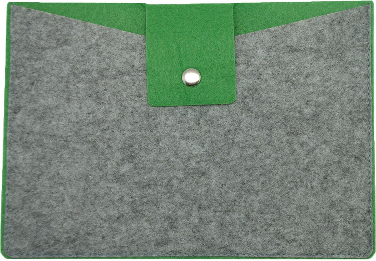 Feltrica Папка для бумаг A5 цвет серый зеленый 46271306551204627130655120Папка А5 из фетра Feltrica - это стильный офисный аксессуар для хранения личных вещей и документов. Экологичные материалы и надежное крепление обеспечат сохранность ценных вещей от внешнего воздействия, а современный эко-дизайн подчеркнет Ваш неповторимый стиль.
