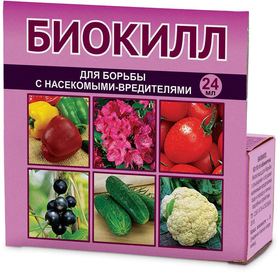 Препарат для защиты растений Ваше хозяйство БиоКилл, от вредителей, 24 мл средство для борьбы с насекомыми вредителями oem 220v h11845