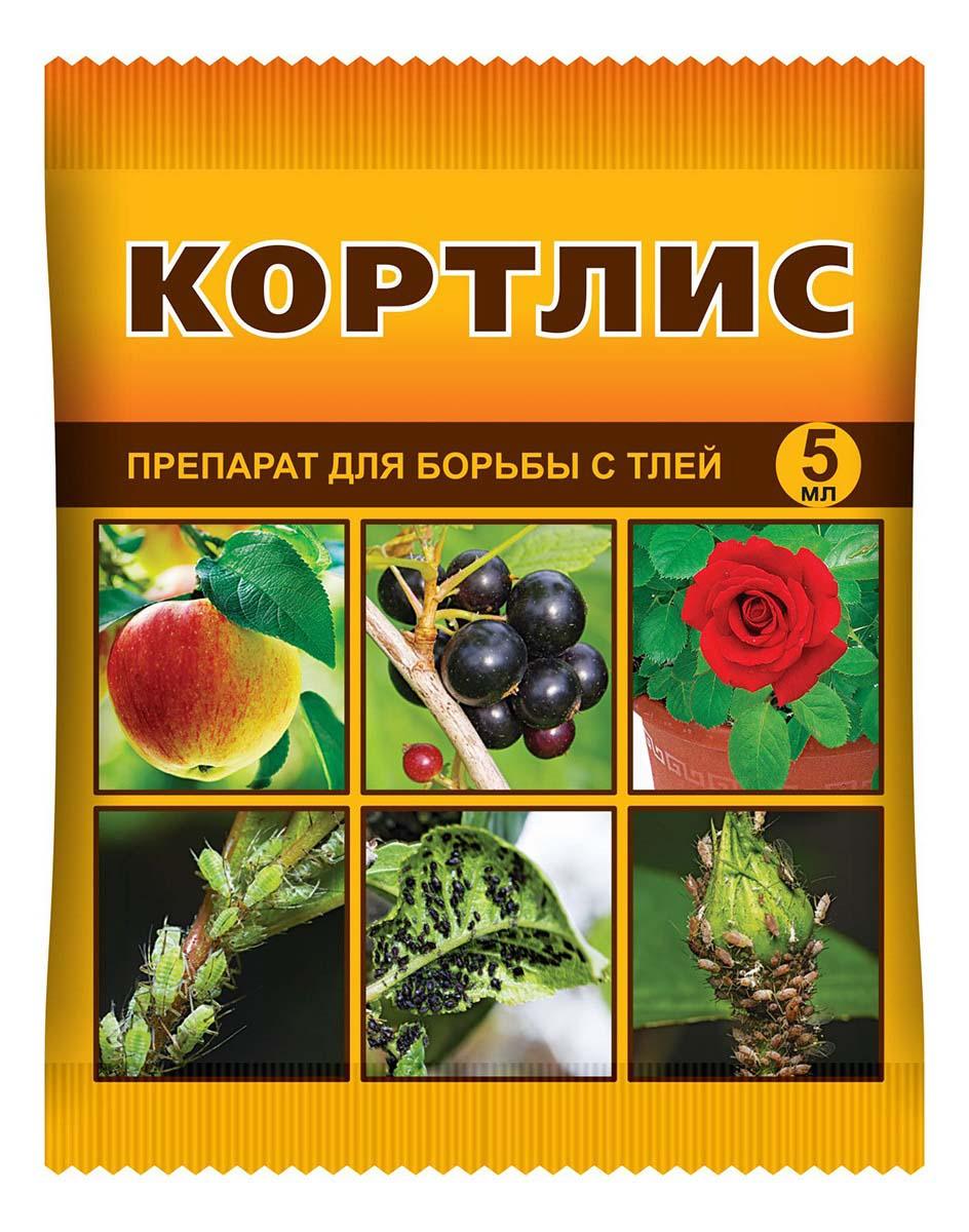 Препарат для защиты растений Ваше хозяйство Кортлис, от вредителей, 5 мл препарат для защиты растений ваше хозяйство корадо от вредителей 1 мл