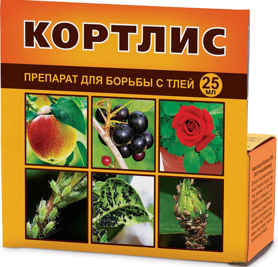 Препарат для защиты растений Ваше хозяйство Кортлис, от вредителей, 25 мл от вредителей запаса