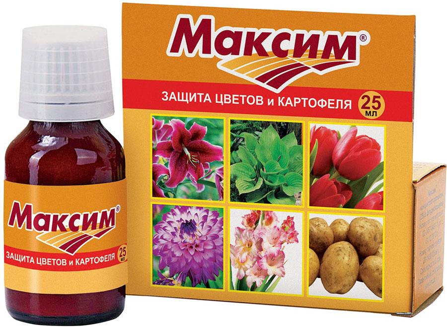 Препарат для защиты растений Ваше хозяйство Максим, от болезней, 25 мл защита от болезней
