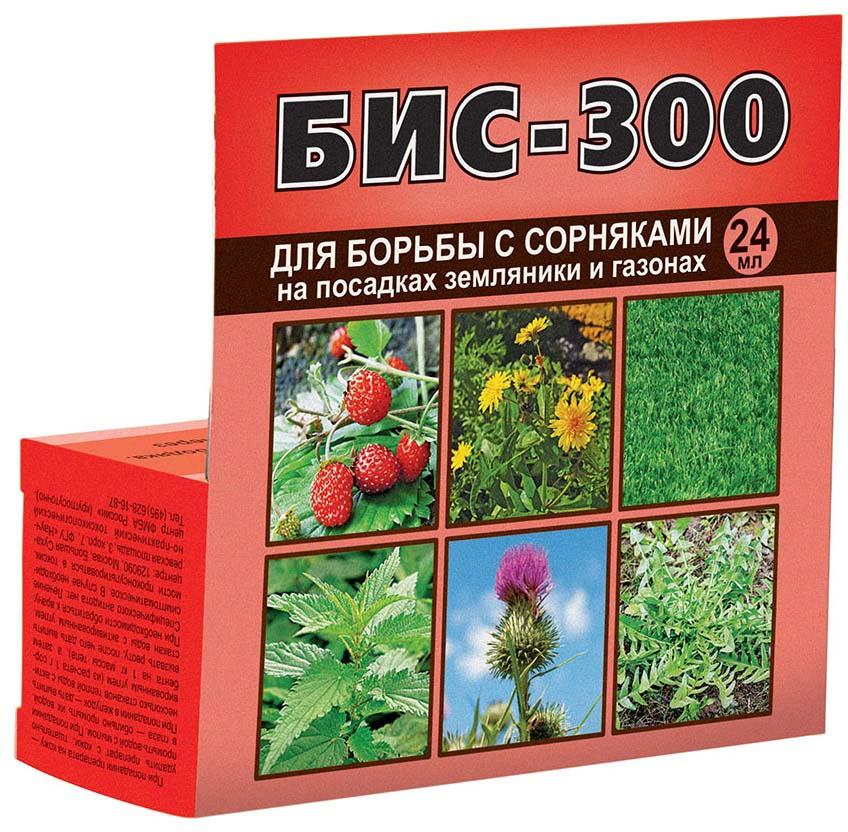 Препарат для защиты растений Ваше хозяйство Бис-300, для борьбы с сорняками, 24 мл борьба с сорняками