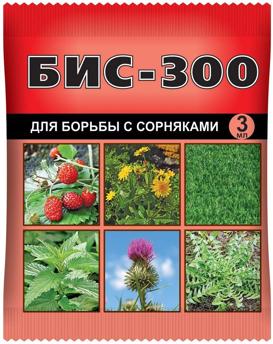Препарат для защиты растений Ваше хозяйство Бис-300, для борьбы с сорняками, 3 мл борьба с сорняками