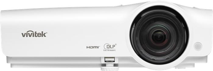 Vivitek DW282-ST, White портативный проектор проектор vivitek d966hd wt