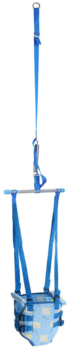 Фея Тренажер-прыгунки Долматинец 2 в 1 цвет голубой