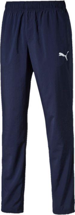 Брюки спортивные мужские Puma ESS Woven Pants, Op, цвет: синий. 838274061. Размер XXL (52/54) брюки спортивные puma puma pu053ewutk21