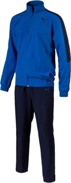 Купить Костюм спортивный мужской Puma Classic Woven Suit Op, цвет: лазурный, синий. 85074090. Размер XXL (52/54)