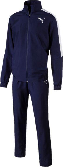Купить Костюм спортивный мужской Puma Classic Woven Suit Op, цвет: синий. 85074006. Размер M (46/48)