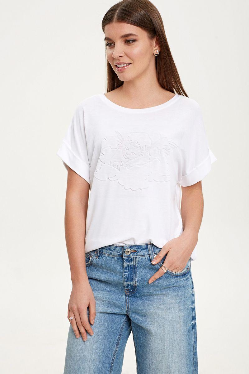 Купить Топ женский Concept Club Vilas, цвет: белый. 10200110332_200. Размер M (46)