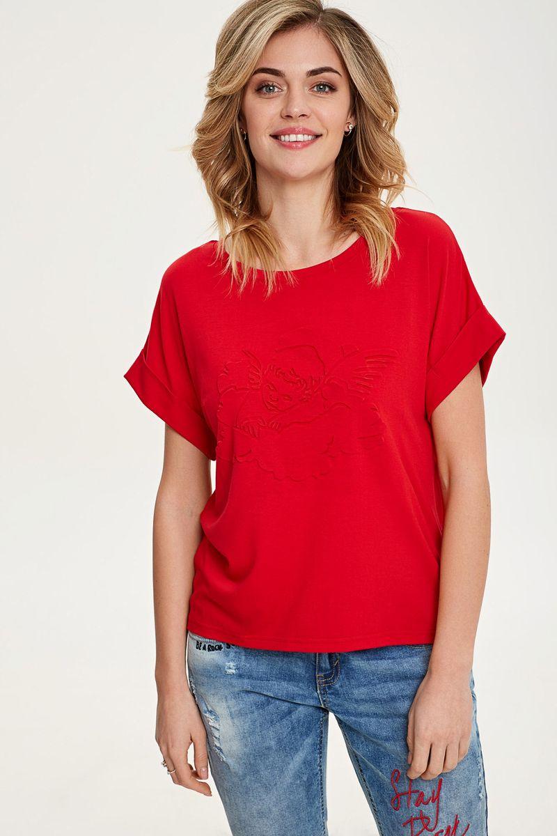 Купить Топ женский Concept Club Vilas, цвет: красный. 10200110332_1500. Размер M (46)