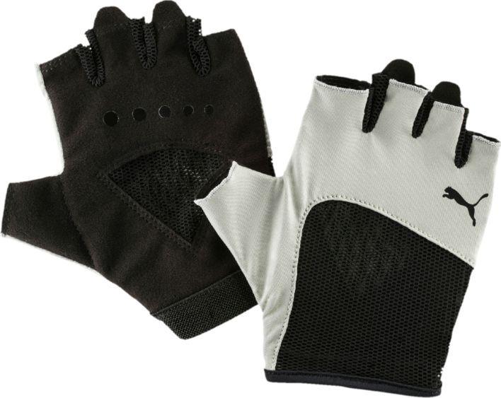 Перчатки женские Puma Gym Gloves, цвет: бежевый. 4136102. Размер S (8)