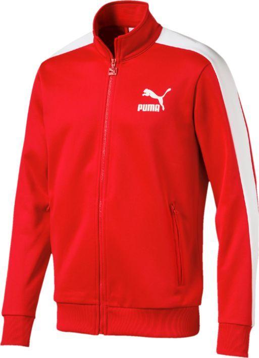 Купить Толстовка мужская Puma Archive T7 Track Jacket, цвет: красный. 57265882. Размер XS (42/44)